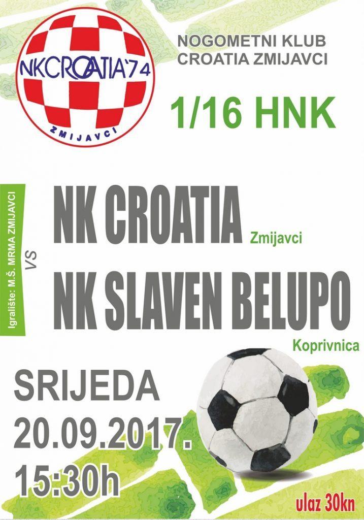1/16 HNK: NK Croatia – NK Slaven Belupo
