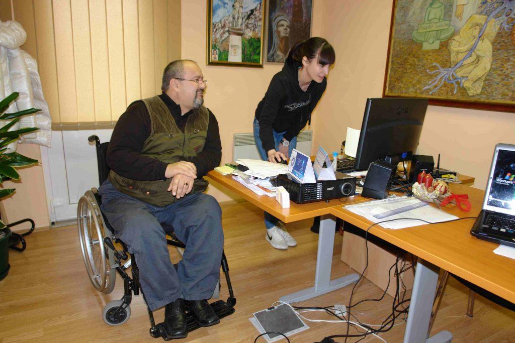Dokumentacija o potpisanom sporazumu o financiranju Udruge osoba s invaliditetom