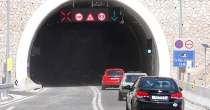 Od ponedjeljka se ne naplaćuje cestarina kroz tunel Sveti Ilija