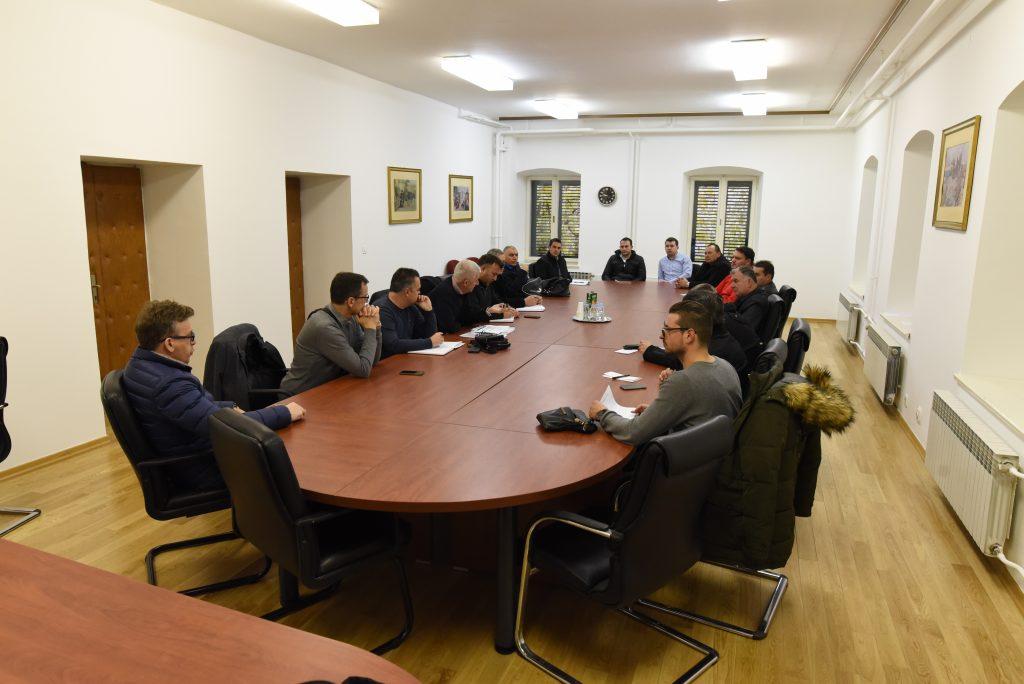 Radni sastanak predstavnika DUZS-a, imotske Civilne zaštite i načelnika općina