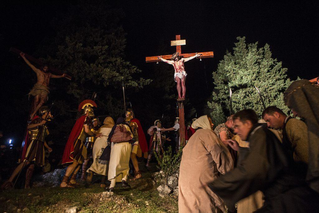 Počele pripreme za Žive slike Muke Isusove