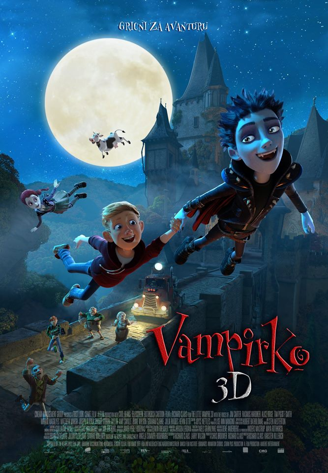 FILMSKA SUBOTA U IMOTSKOM: Vampirko 3D i Novine