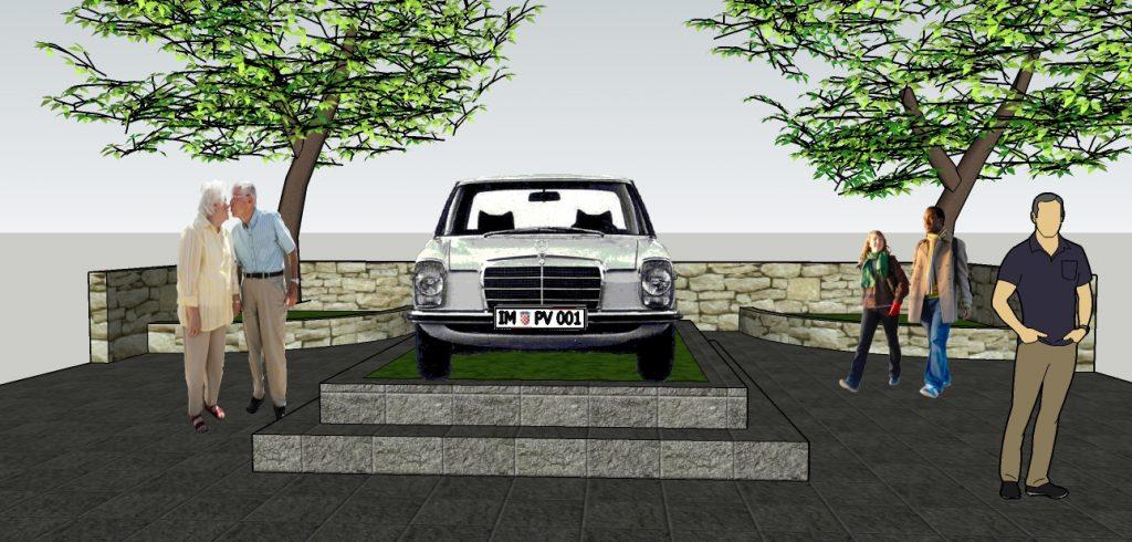 Spomenik Mercedesu mogao bi pod poznatu imotsku kostelu
