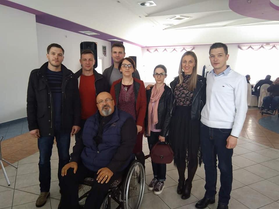 Izvanredna izborna skupština Udruge osoba s invaliditetom Imotski