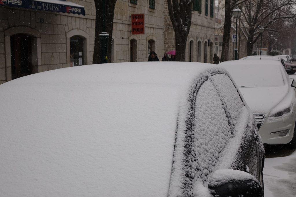 Snijeg na području Imotske krajine