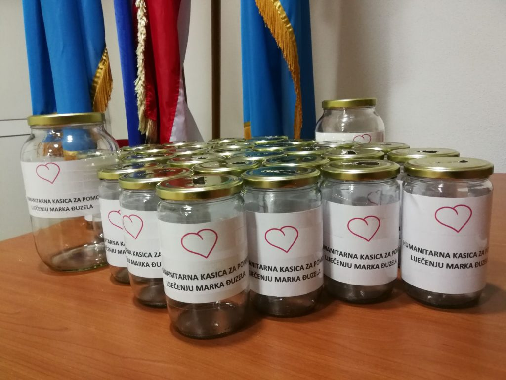 KUM Proložac pokrenuo humanitarnu kasicu za Marka Đuzela