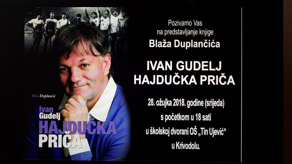 """KRIVODOL: Predstavljanje knjige """"Ivan Gudelj – Hajdučka priča"""""""