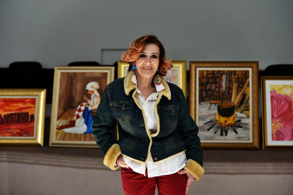 Gospođa Valerija Bjelobradić prošloga je tjedna imala izložbu slika u POU Imotski – evo što nam je tada izjavila