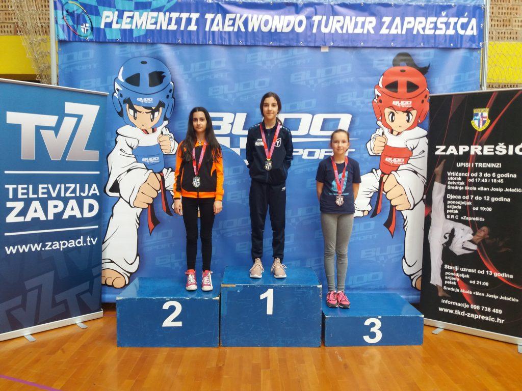 Četiri medalje za T.K. Imotski u Zaprešiću