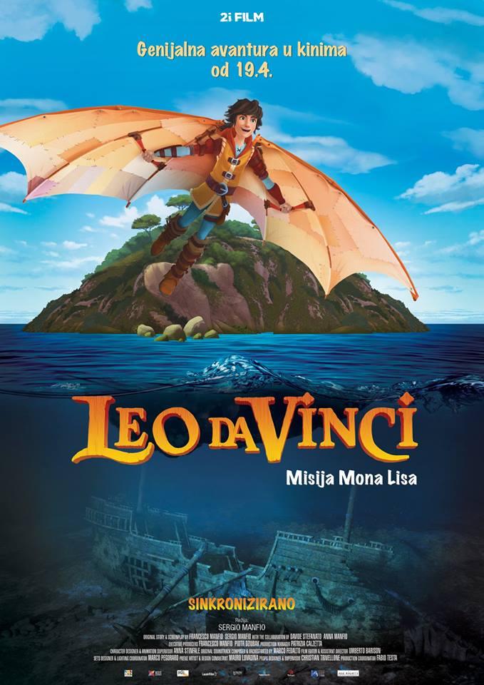 Leo da Vinci: Misija Mona Lisa & U mojim godinama još skrivam da pušim – Kino vikend
