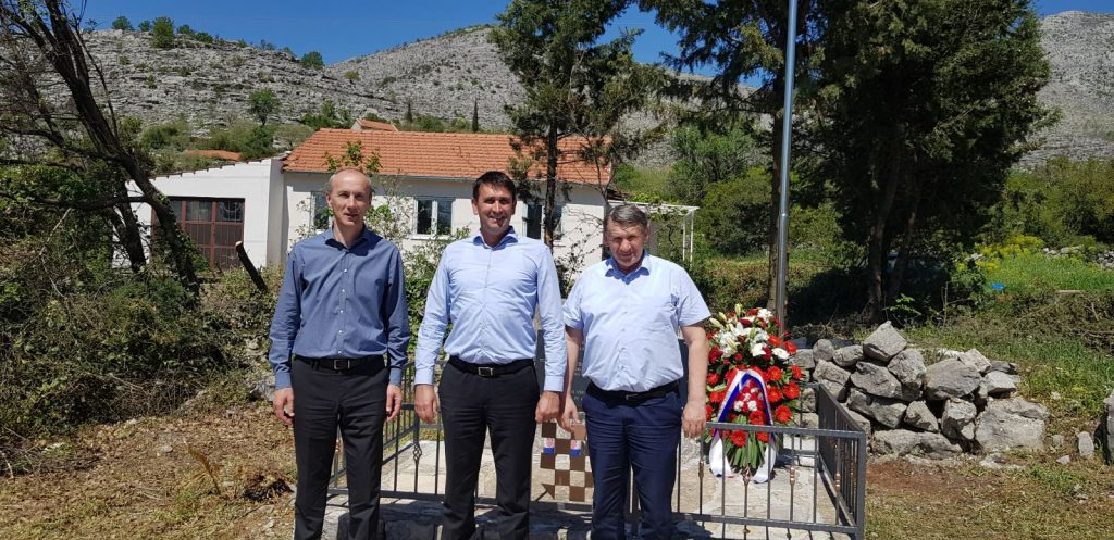 Uređeno spomen obilježje na mjestu pogibije Mate Juroša