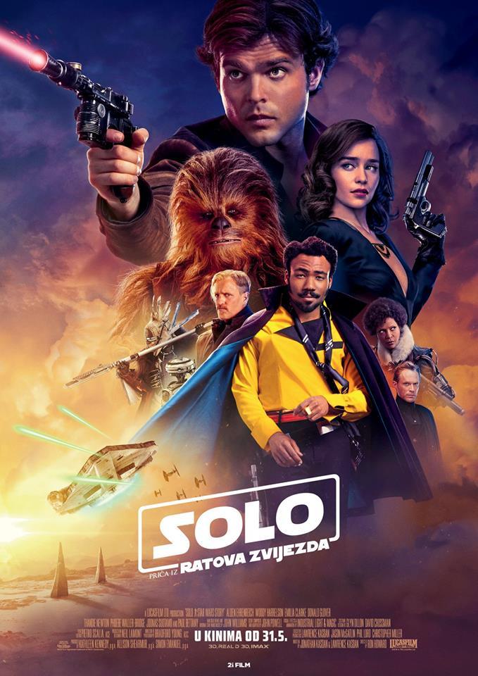 Solo: Priča iz Ratova zvijezda & Prinčeva strana priče – Kino vikend