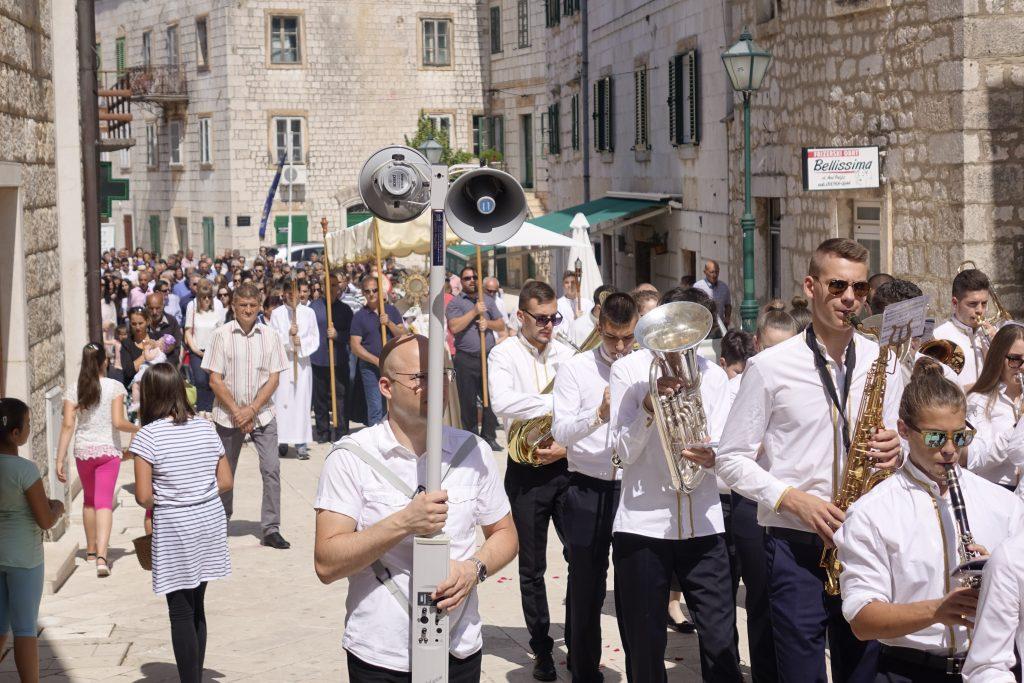 Tijelovo obilježeno misom i procesijom