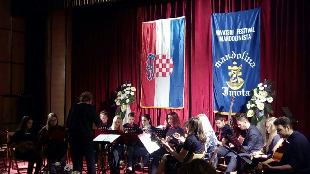"""25. hrvatski festival mandolinista """"Mandolina Imota"""""""