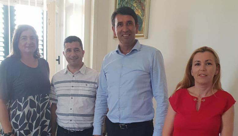 Gradonačelnik se sastao s predstavnicama HGK Split