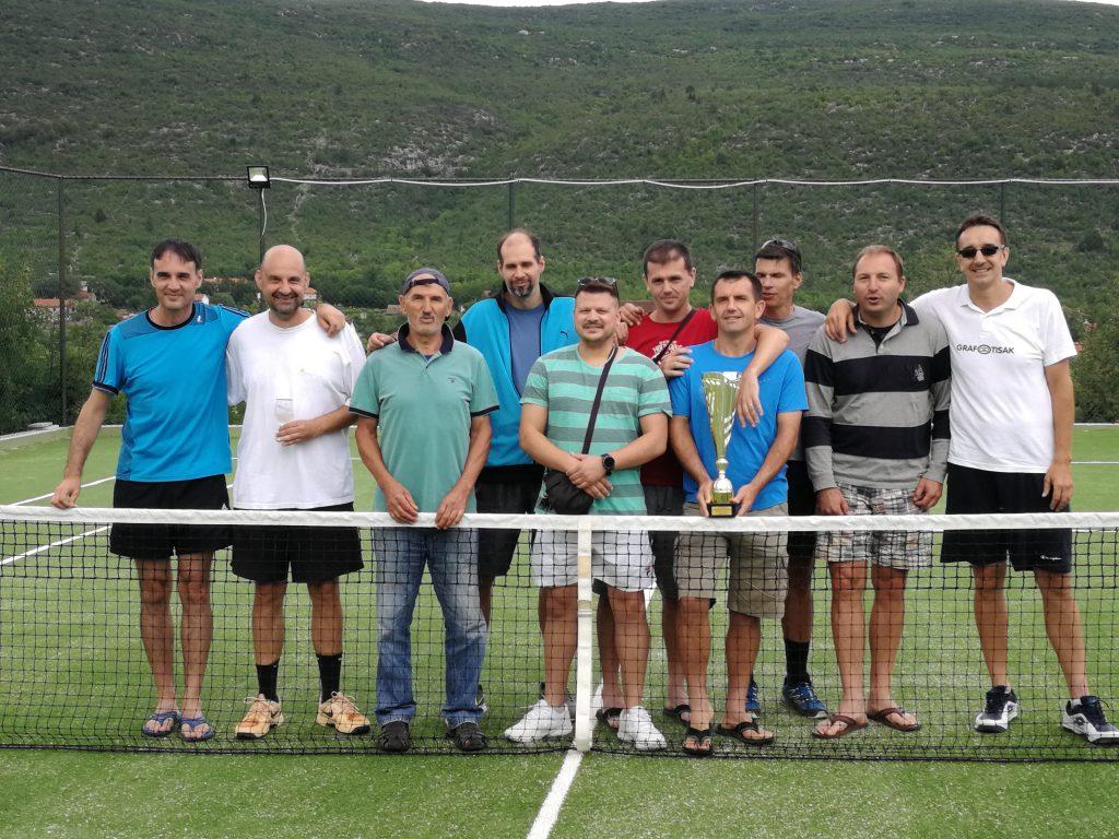 Teniski susret u Slivnu