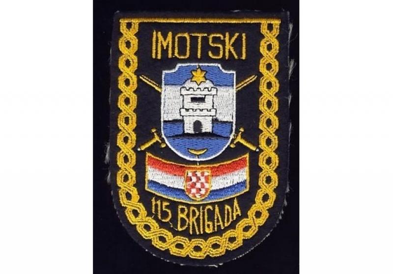 Obljetnica osnutka 115. Imotske brigade Hrvatske vojske