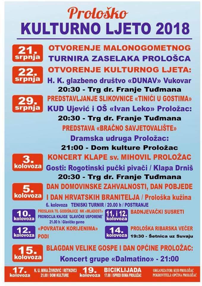"""Početak manifestacije """"Kulturno ljeto u Prološcu"""""""