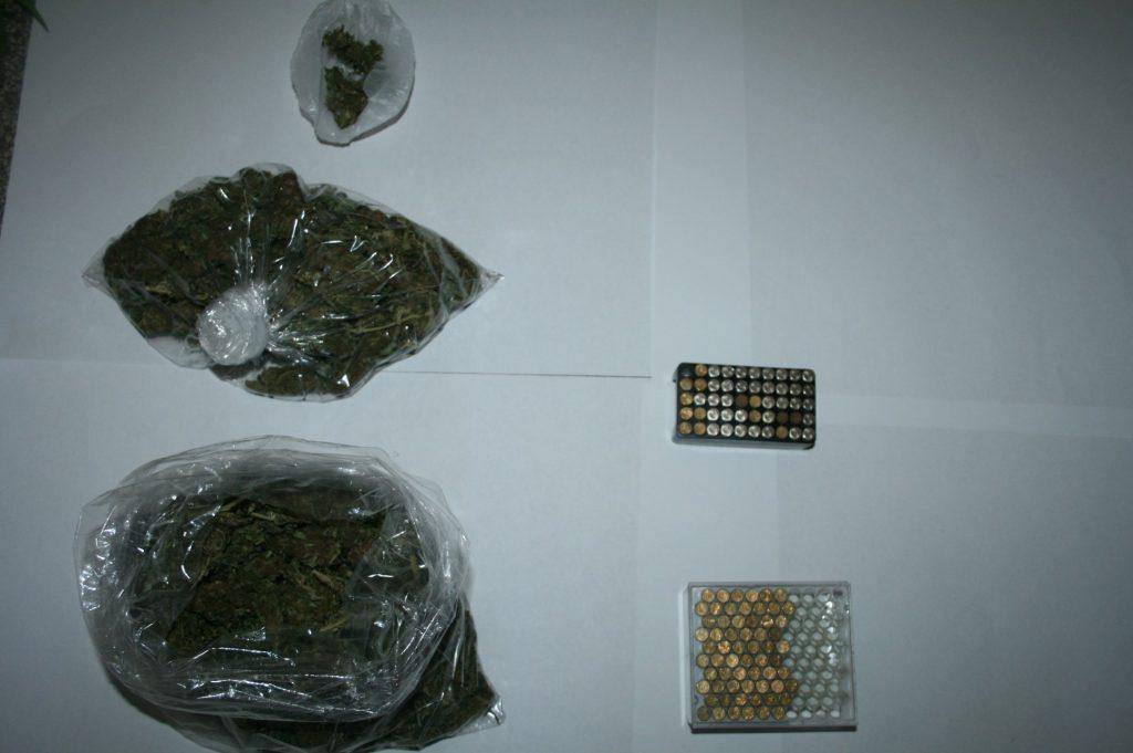 Kod 47-godišnjaka pronađena marihuana i 110 komada streljiva