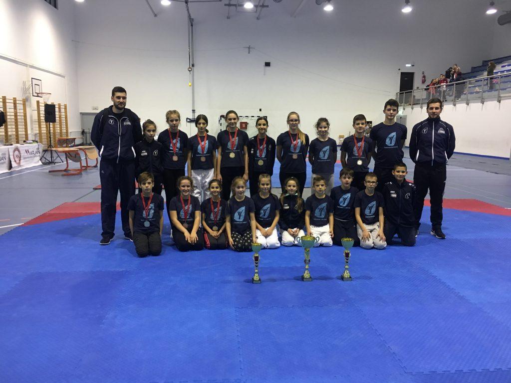 Tri pehara za Taekwondo klub Imotski na Kupu Marjana