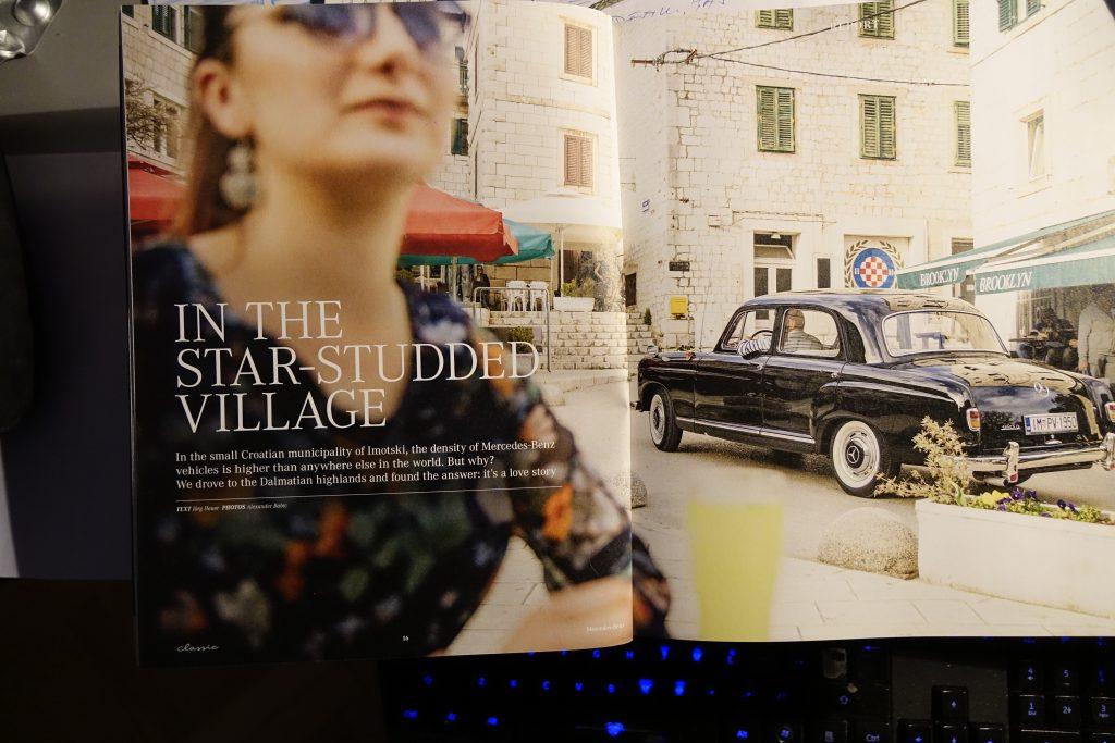 Mercedes Benz Classic donio veliku reportažu o Imotskom
