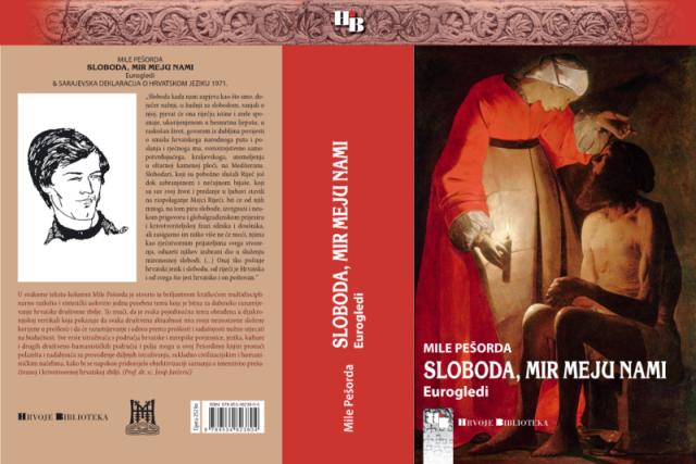 "Promocija knjige ""Sloboda mir meju nami-Eurogledi"" autora Mile Pešorde"