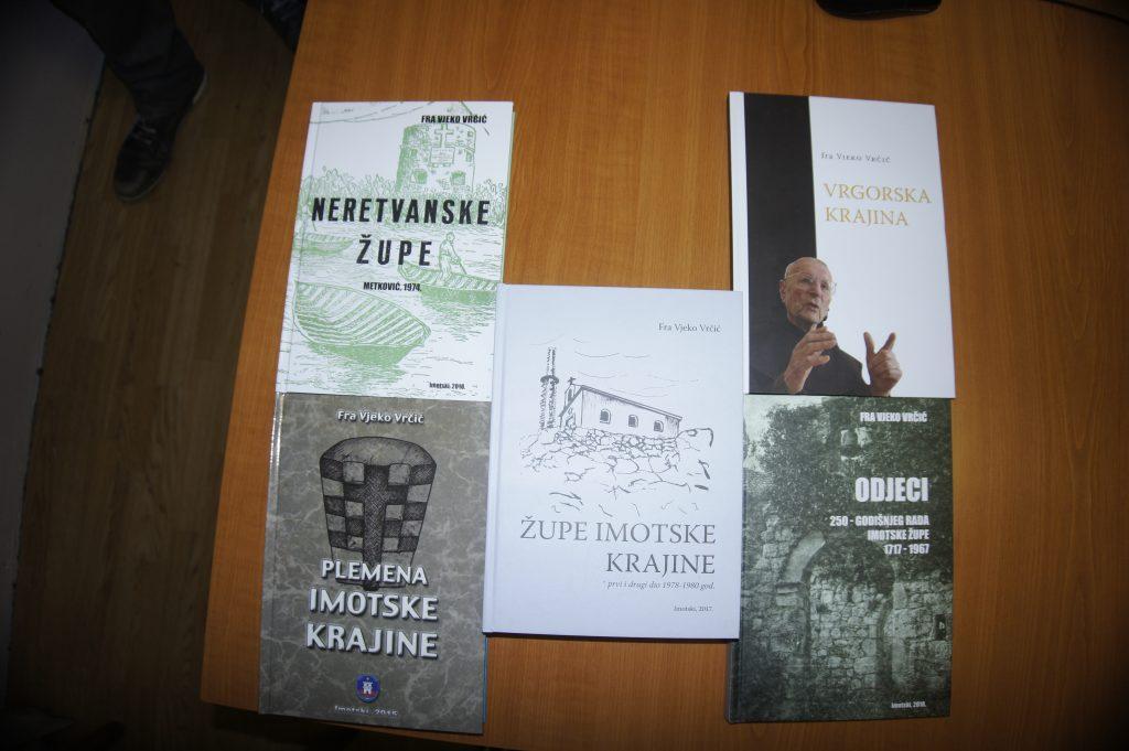 Predstavljanje pet knjiga fra Vjeke Vrčića