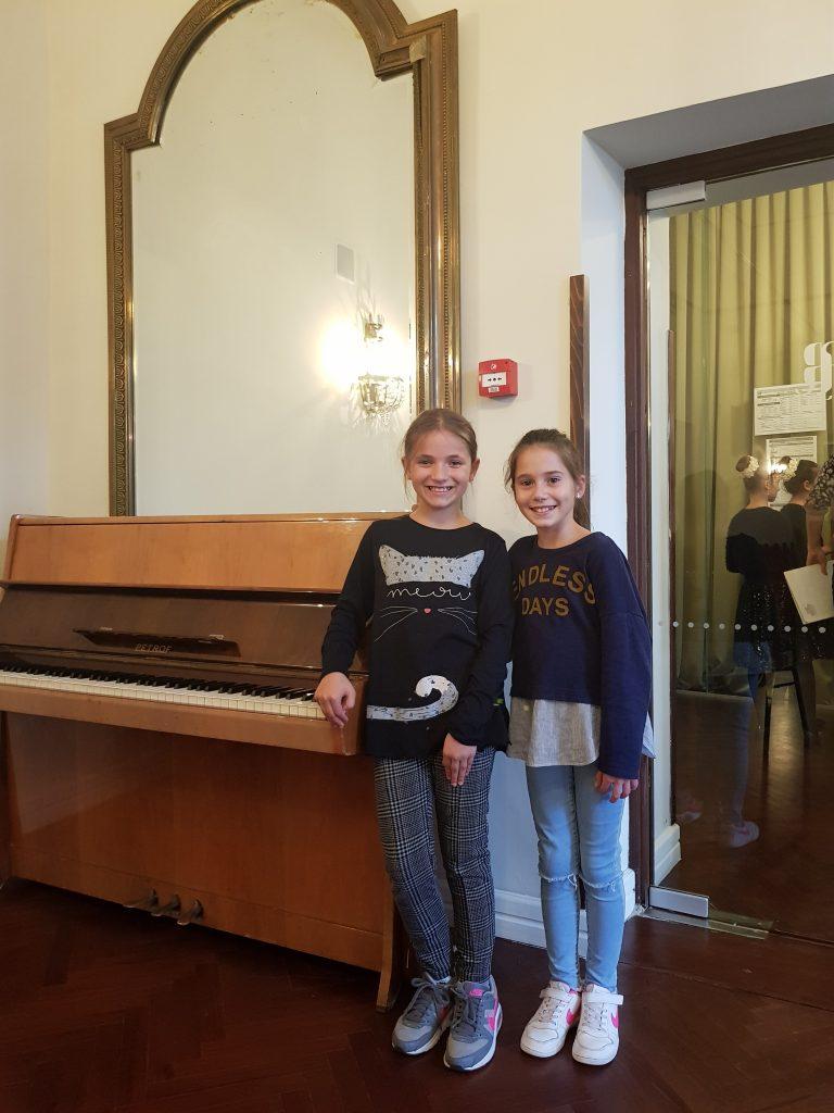 Izvrstan uspjeh mladih pijanistica naše glazbene škole