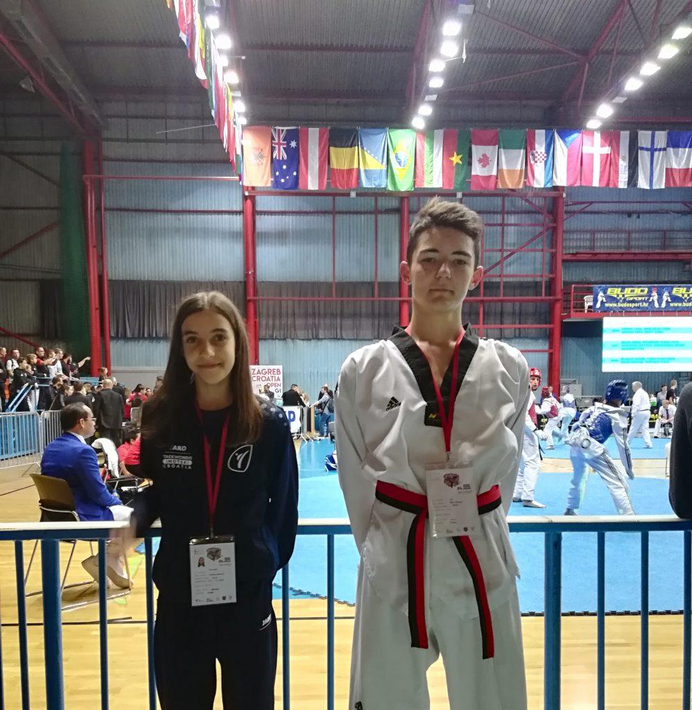 Mijo Zdilar srebrni na taekwondo G-1 Croatia Openu
