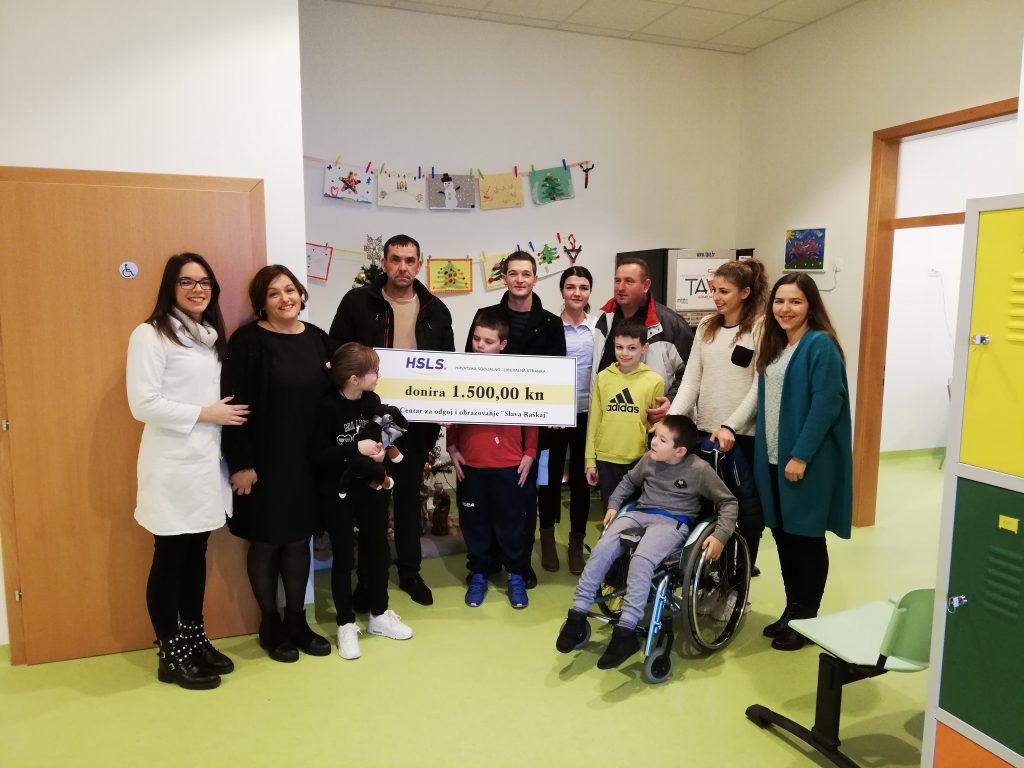 Odrekli se naknade koja pripada stranci i donirali Centar Slava Raškaj i Udrugu osoba s invaliditetom Imotski!