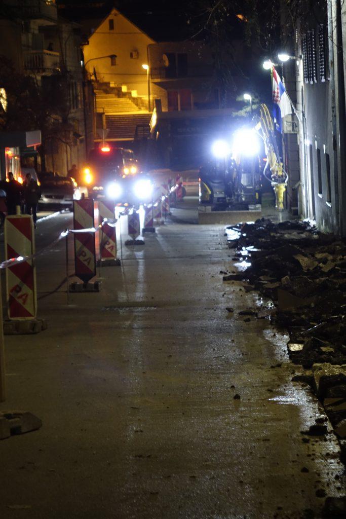 Započeli radovi na izgradnji nogostupa u ulici kralja Zvonimira