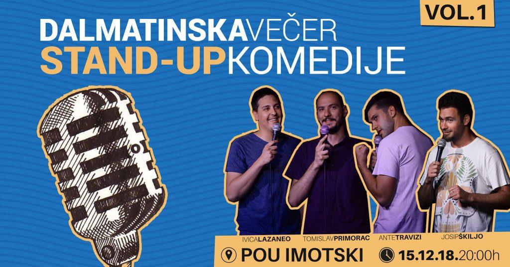Dalmatinska večer Stand-up komedije
