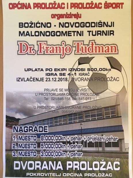 Božićno – novogodišnji malonogometni turnir dr. Franjo Tuđman