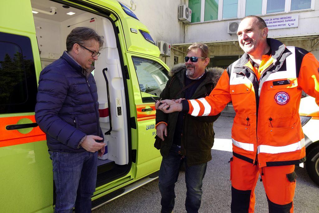 Jedinica Hitne medicine Imotski dobila novo sanitetsko vozilo