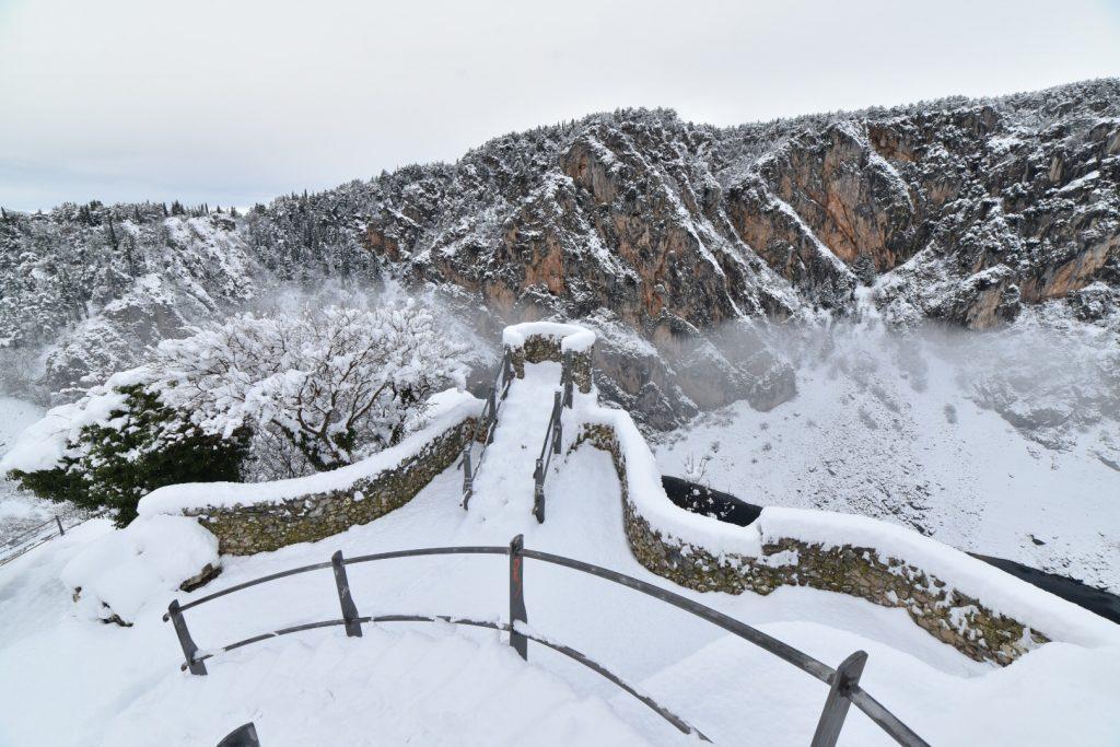 ZIMA DO DALJNJEG Za vikend u Zagori jak mraz