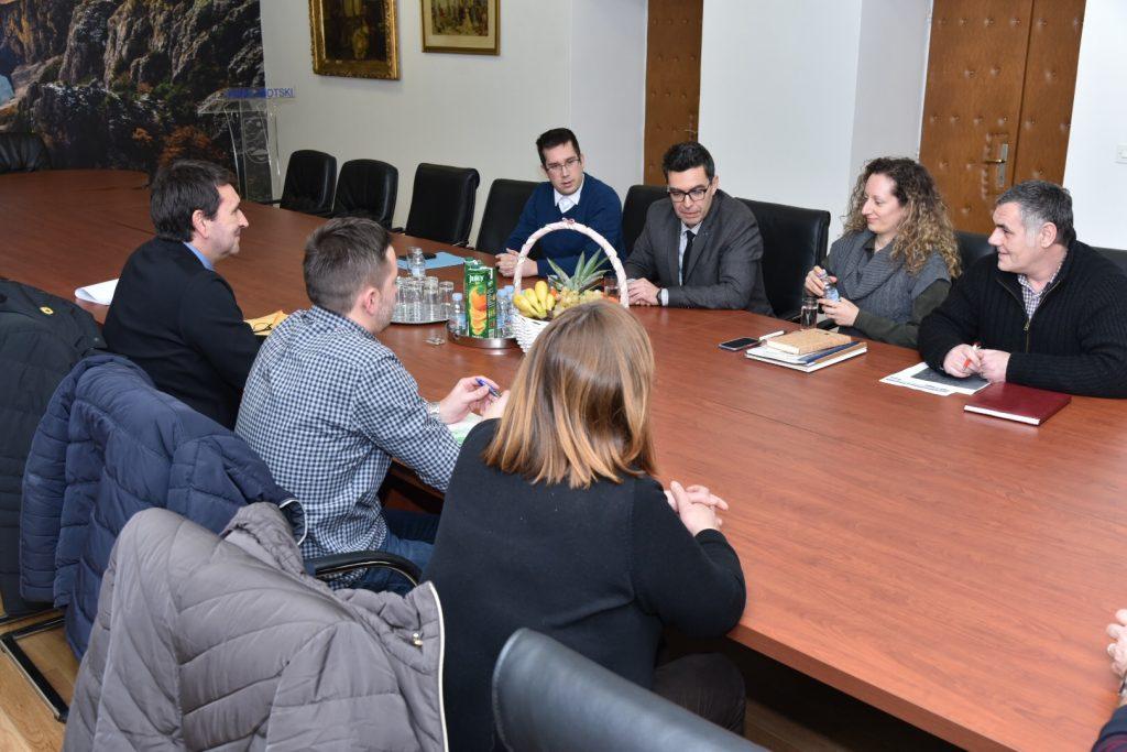 Pomoćnik ministra zaštite okoliša Igor Kreitmeyer sa suradnicima boravio u Imotskom