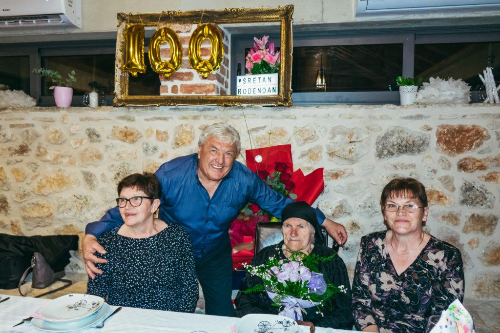 100. rođendan babe Mare Juroš