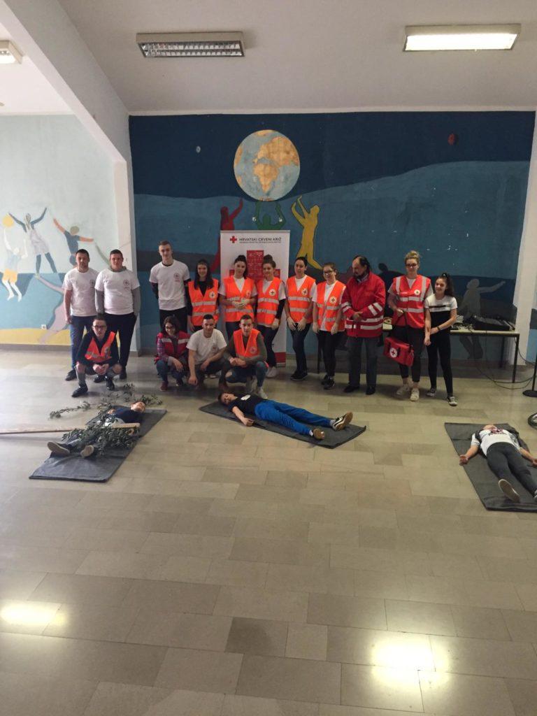 Održano školsko natjecanje mladih Hrvatskog Crvenog križa