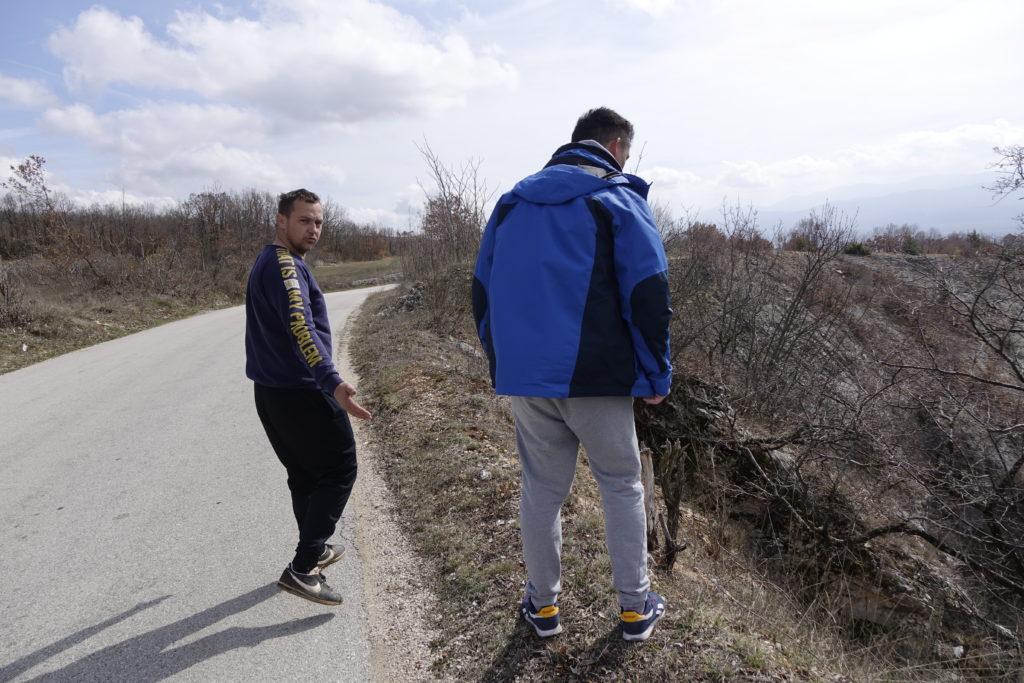 Zabrinutost mještana zaseoka Aračići zbog urušavanja dijela lokalne prometnice