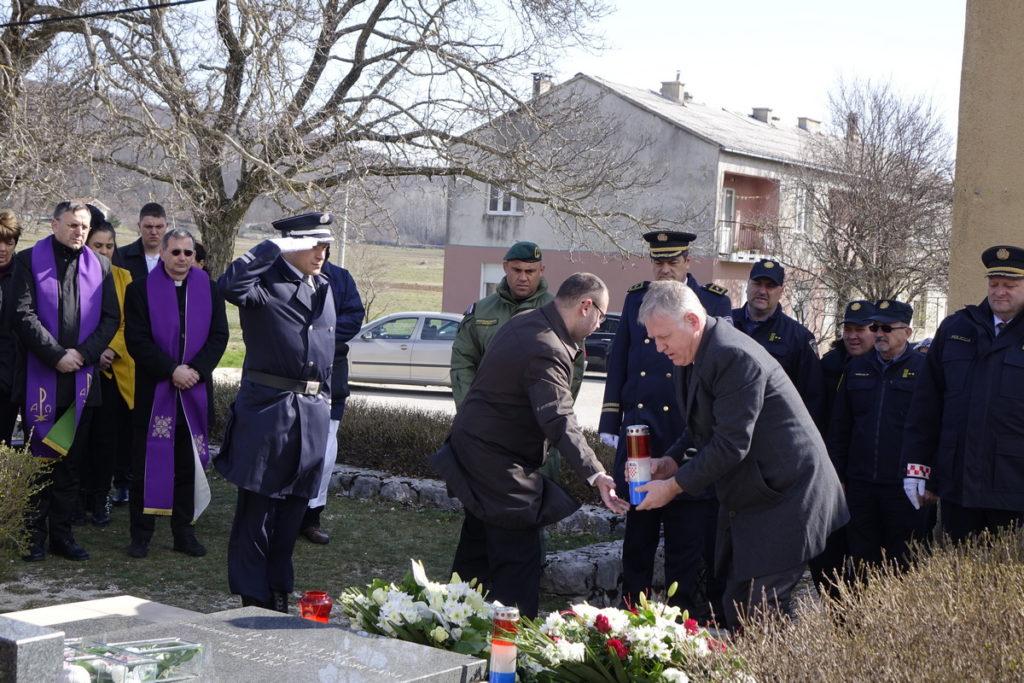 Komemoracija povodom 28. obljetnice junačke pogibije Josipa Jovića