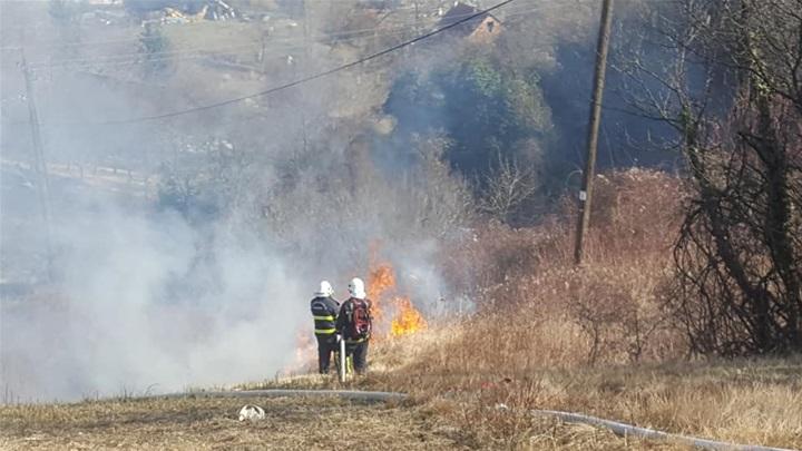 Požar na obiteljskoj kući u Cisti Provo
