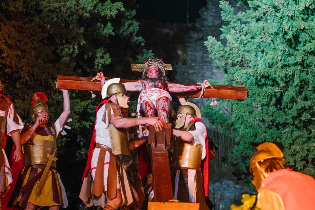 """PRIJENOS UŽIVO """"Žive slike Muke Isusove"""""""