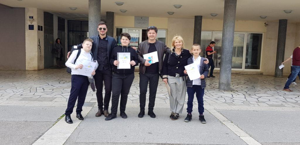 12 nagrada za Glazbenu školu Dr. fra Ivan Glibotić