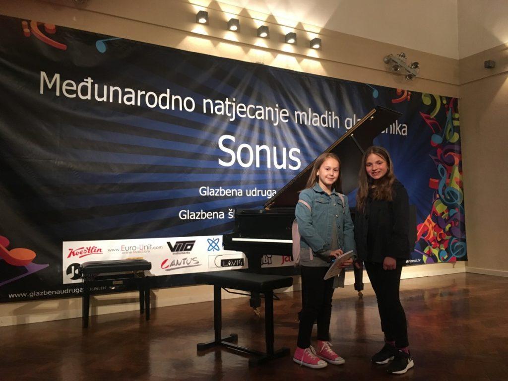 Dvije prve nagrade za imotsku glazbenu školu u disciplini Solfeggio