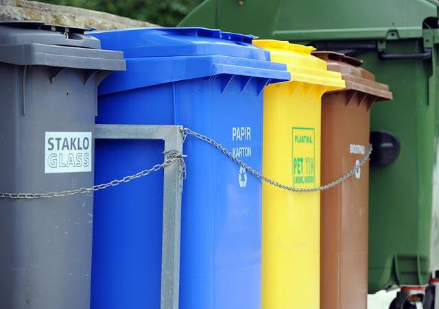 Preuzimanje vrećica za prikupljanje miješanog komunalnog otpada