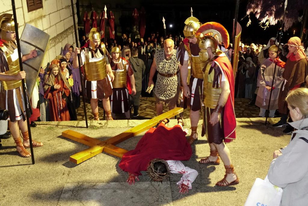 20. jubilarni prikaz Živih slika Muke Isusove