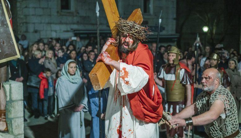Na Cvjetnicu će se održati 20. prikaz Živih slika Muke Isusove