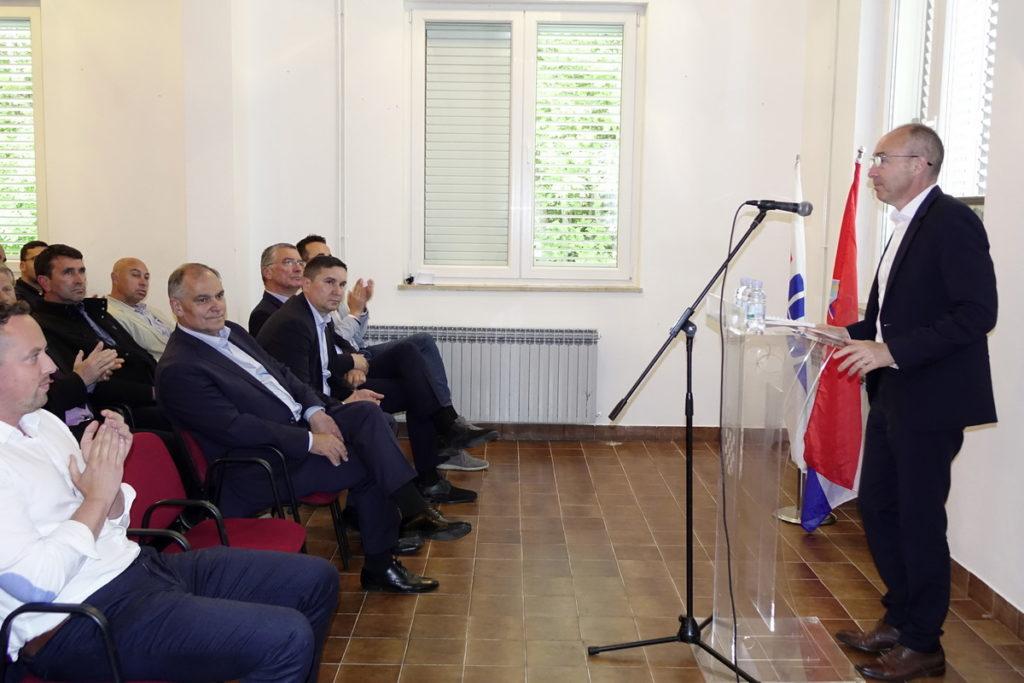"""DRUM: Ministar obrane održao predavanje """"Sigurnost i obrana"""""""