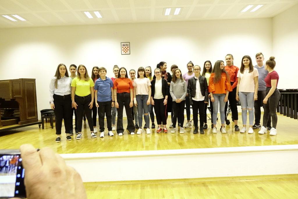 Završni koncert učenika Glazbene škole Dr. fra Ivan Glibotić