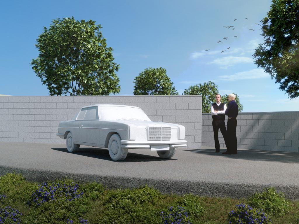 Izložba oldtimera Mercedesa iz Stuttgarta
